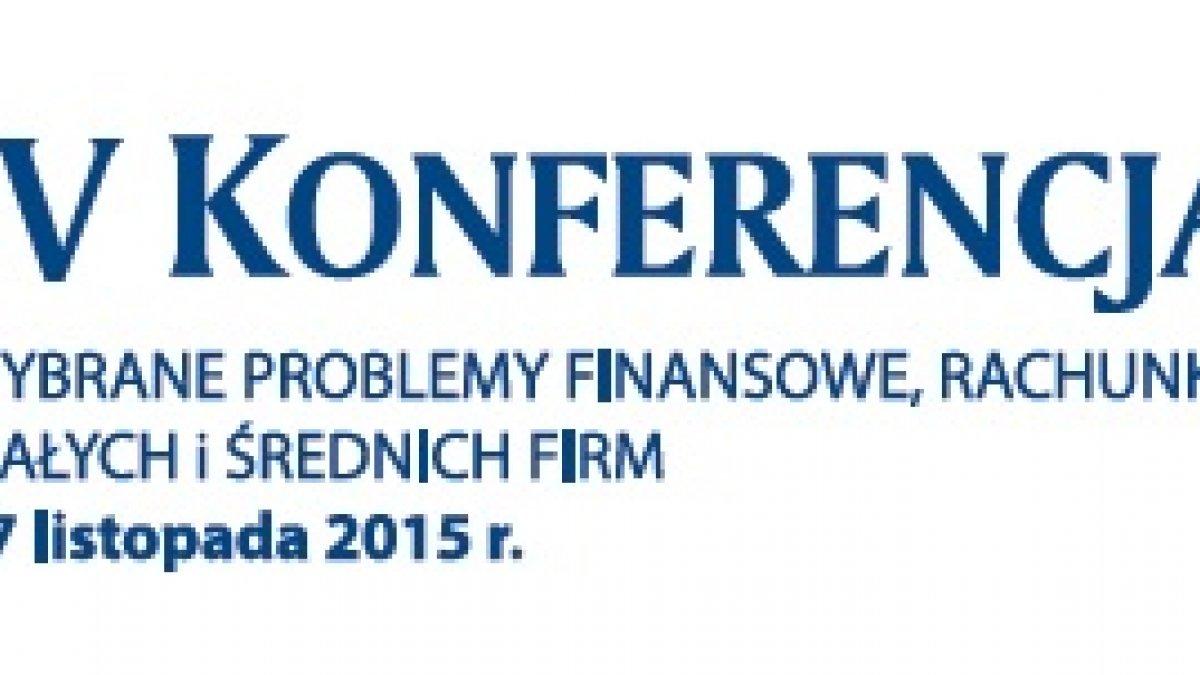 IV Konferencja Naukowa
