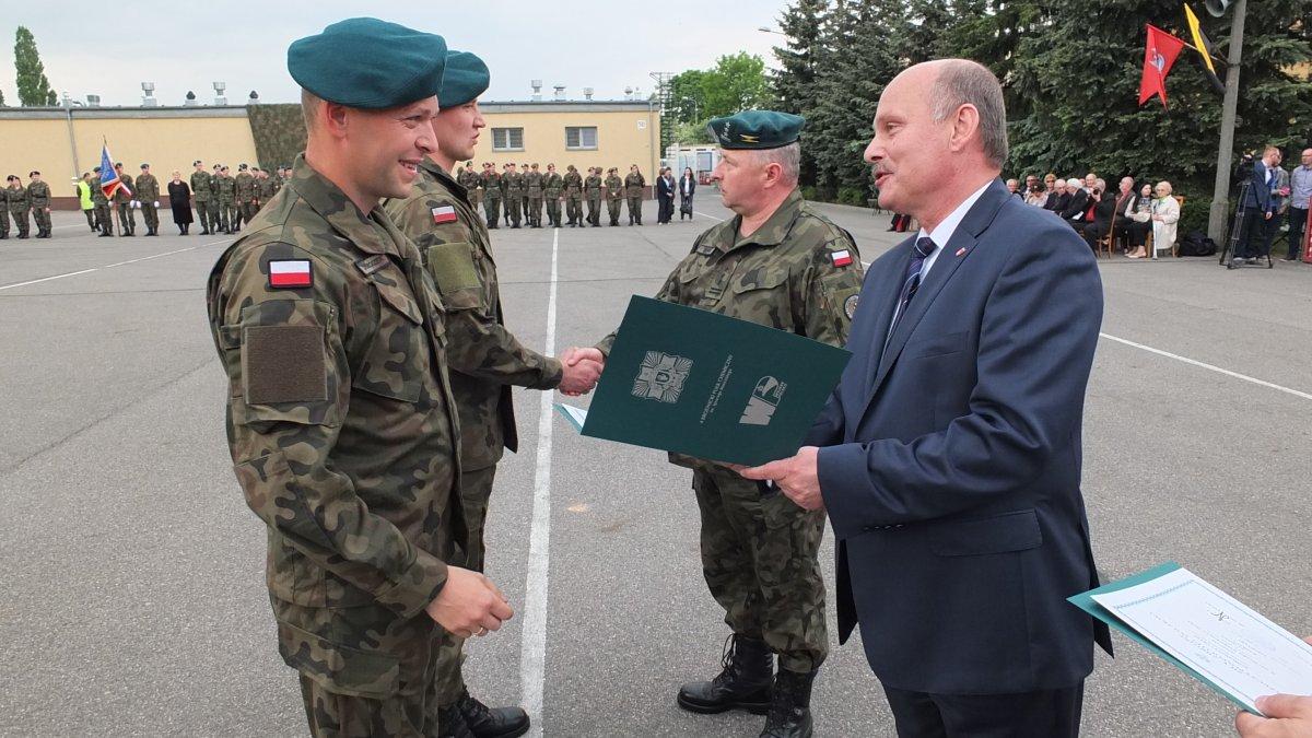 Święto Pułku w brodnickim garnizonie
