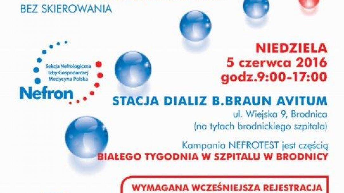 Kampania NEFROTEST w Brodnicy