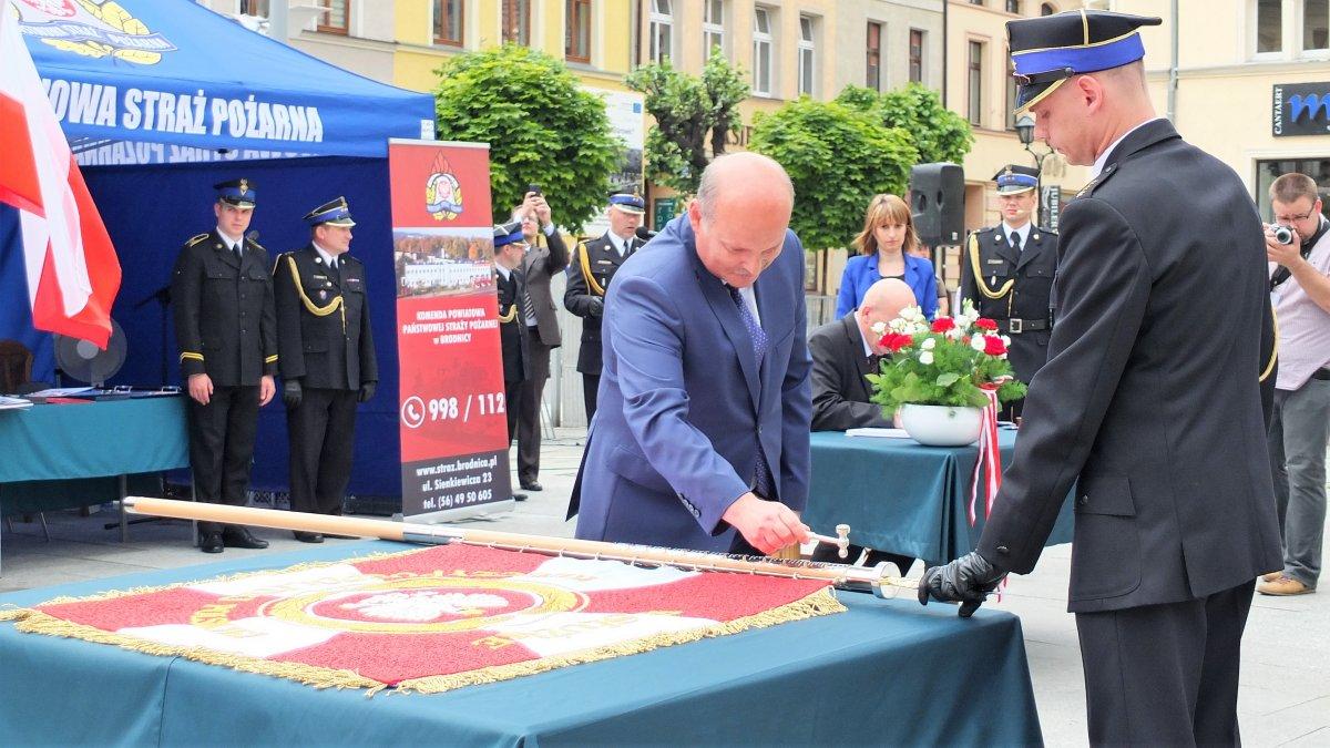 Sztandar dla KP PSP w Brodnicy